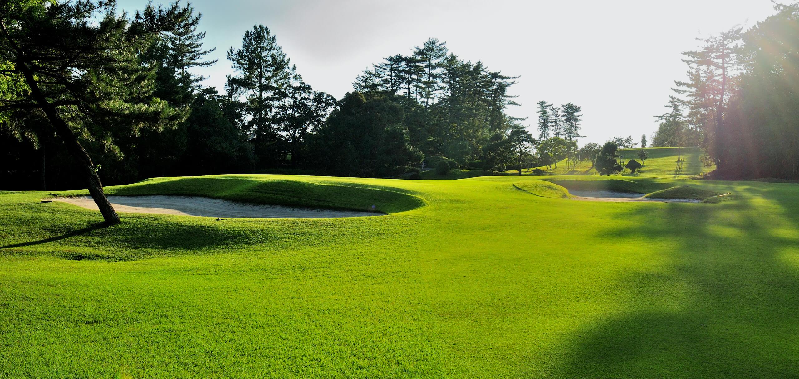 日本ラインゴルフ倶楽部メインビジュアル